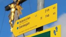Über die Esterbergalm auf den Wank