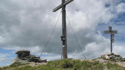 Gipfelkreuz am Seckauer Zinken (2.937 Hm)
