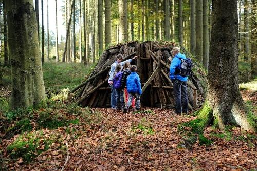 Neuenrade: Walderlebnispfad Igelweg