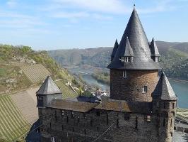 Burg Stahleck (Foto: Frank Gallas, Quelle: Romantischer Rhein Tourismus GmbH)