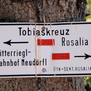 Beschilderung Tobiaskreuz