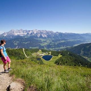 Aussicht vom Reiteralm Höhen-Rundweg