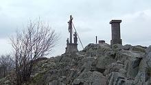 Von der Bergbund Hütte zur Milseburg