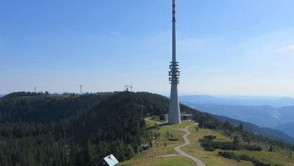 Gipfelplateau der Hornisgrinde, Blick nach Süden