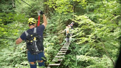 Klettersteig Wolfgangsee : Familien klettersteig schnuppern am hochkar bergwelten