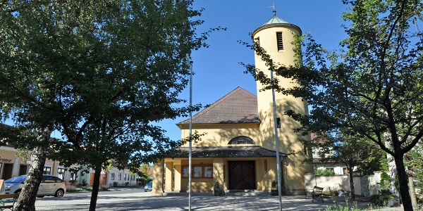 Antoniuskirche in Bad Erlach (Copyright: Marktgemeinde Bad Erlach)