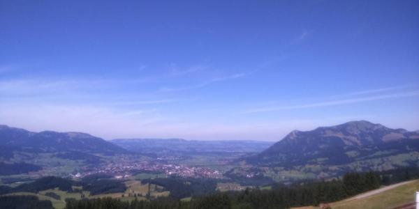 Blick vom Altstädter Hof ins Tal