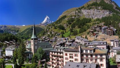 Das Bergdorf Zermatt