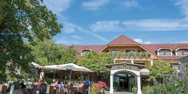 RETTER Bio-Natur-Resort, Eingang Restaurant