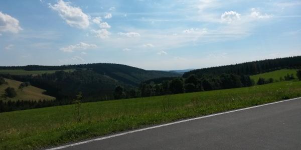 Ausblick kurz vor Altastenberg