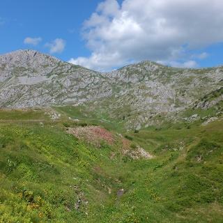 Das Zelengora Gebirge