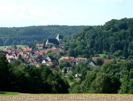 Blick auf Stadt Rauschenberg (Foto: Armin Feulner, Quelle: Marburg Stadt und Land Tourismus)