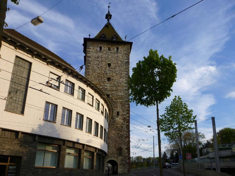 Der Obertorturm in Schaffhausen