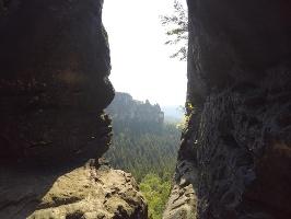 """Foto Im """"inneren"""" Teil des Hinteren Raubschlosses (Winterstein)"""