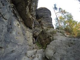 Foto Im unteren Teil des Hinteren Raubschlosses (Winterstein)