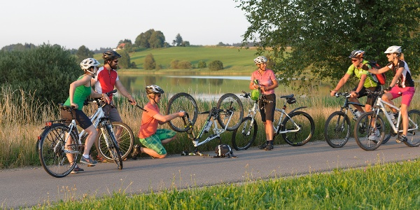 Oberschwaben-Allgäu-Radweg Etappe 4