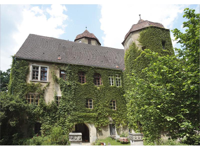 Schloss Laubach  - @ Autor: Silke Rüdinger  - © Quelle: Bürgermeisteramt Abtsgmünd