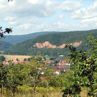 Blick vom Bichelberg