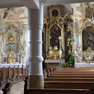 Fililkirche St. Bartholomäus Hörgersdorf, drei Altäre