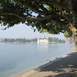 Blick zurück auf Konstanz