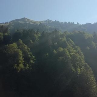 Üntschenspitze von unten