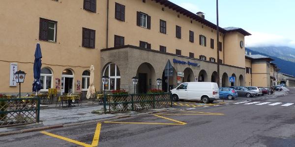 Der Start erfolgt am Bahnhof Brenner.