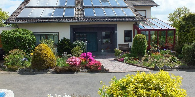Ferienwohnung monika begler holiday flat for Schrank fa r terrasse
