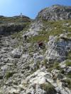 Kletterei zum Gipfel des Aggenstein - @ Autor: Rainer Bräuning - © Quelle: Community