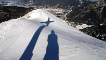 Schneeschuhwanderung auf die Notkarspitze
