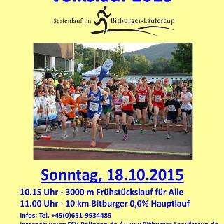 27. Internationaler Ralinger Sauertal Volkslauf 2015