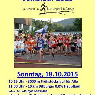 27. Internationaler Ralinger Sauertal Volkslauf 2015