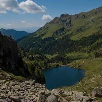 Bergsee im Lagorai
