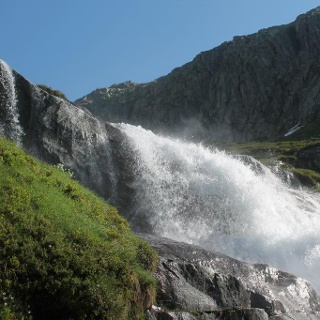 Wasserfälle Bauns