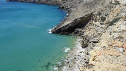 Blick auf die Ponta de Sagres und das Fort