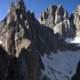 Blick auf die Fünffinger- und Grohmanspitze vom Fassaner Band