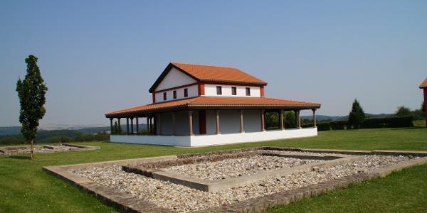 Haupttempel der Gallorömischen Tempelanlage