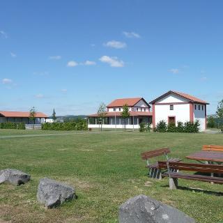 Gallorömische Tempelanlage auf dem Martberg bei Pommern