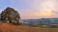 Ungewöhnliche Ausblicke: Königshofen - Sachsenflur - Edelfingen