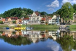 Foto Stadt Wehlen