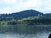 Blick über den Rottachsee nach Petersthal  - @ Autor: Barbara Seidel  - © Quelle: laufSinn Weiser und Seidel GbR