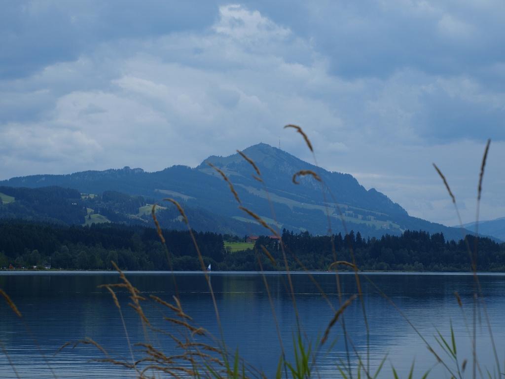 Rottachsee und Grünten  - @ Autor: Barbara Seidel  - © Quelle: laufSinn Weiser und Seidel GbR