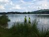 Schwimmstrecke nach Bisseroy  - @ Autor: Barbara Seidel  - © Quelle: laufSinn Weiser und Seidel GbR