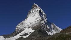Blick auf das imposante Matterhorn