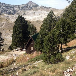 Mountain Hut Vrutak