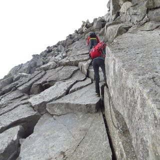 ....Kletterpassage