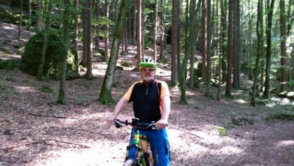 Waldweg nähe Hirschenstube