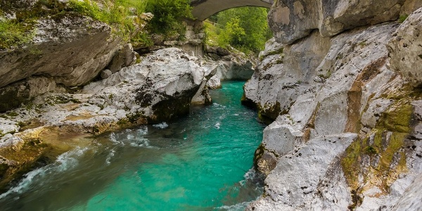 Mala Korita (the Small Soča Gorge)