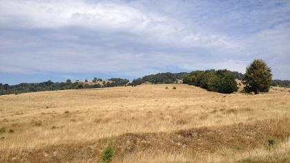 Die Hohe Ebene über beide Dörfer