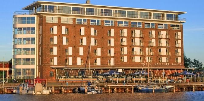 Hotel speicher barth restaurant for Designhotel barth