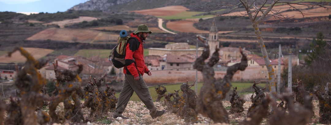 Wanderung durch die Rioja Alavesa